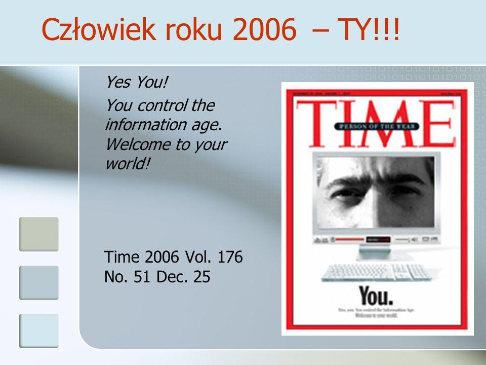 Człowiek roku 2006 – TY!!! Yes You!