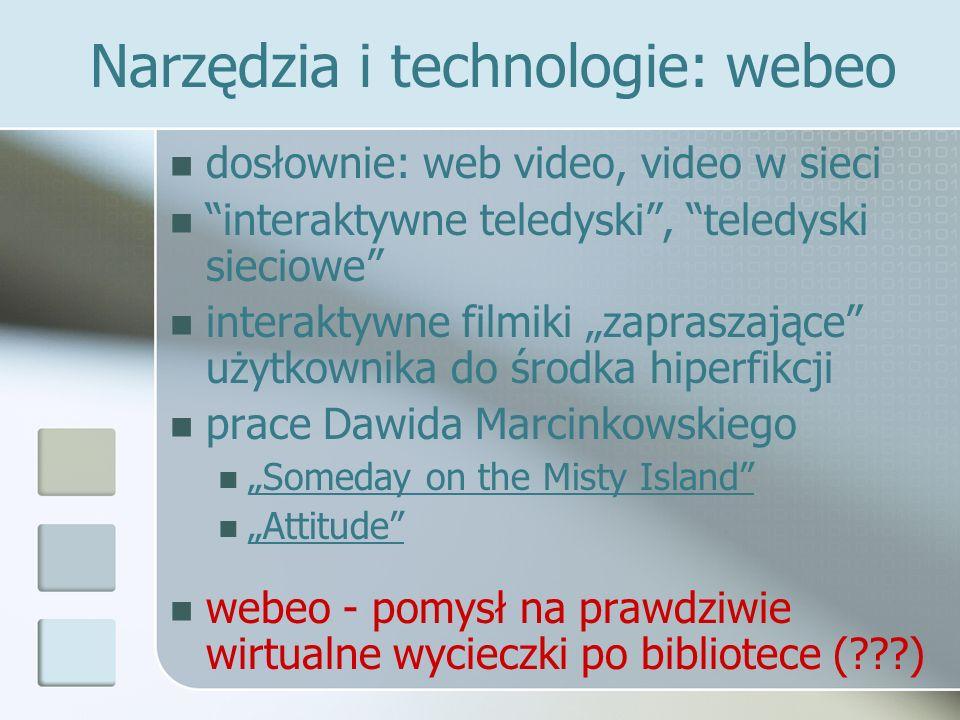 Narzędzia i technologie: webeo