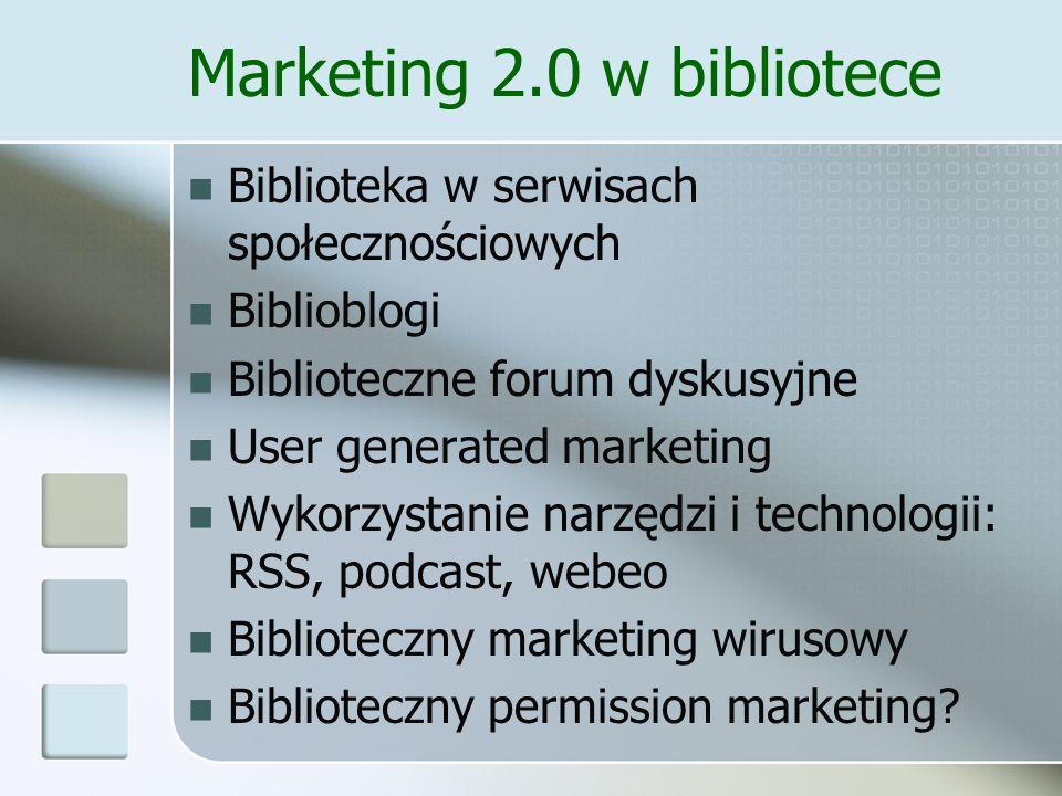 Marketing 2.0 w bibliotece