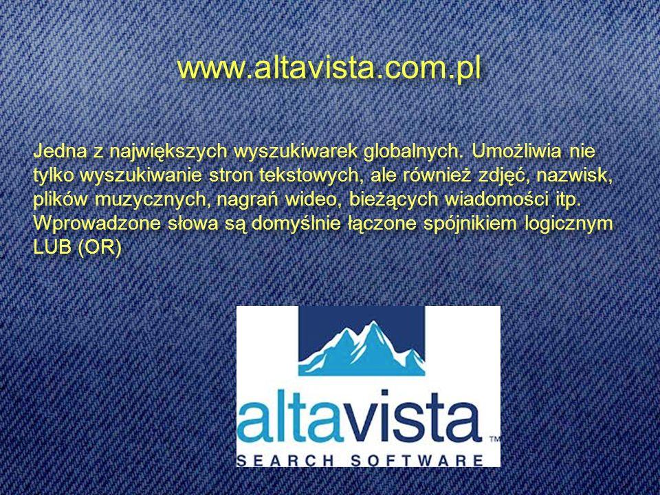 www.altavista.com.pl