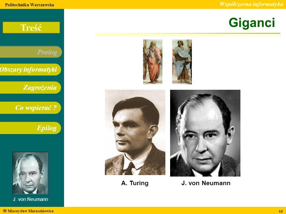 Giganci A. Turing J. von Neumann