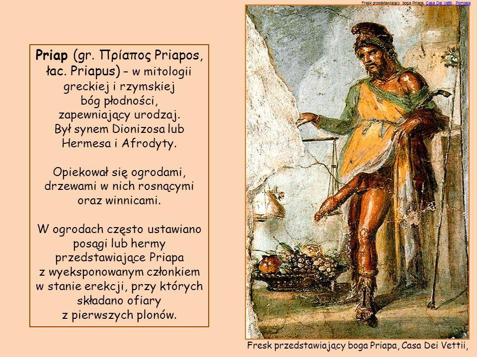 Priap (gr. Πρίαπος Priapos,