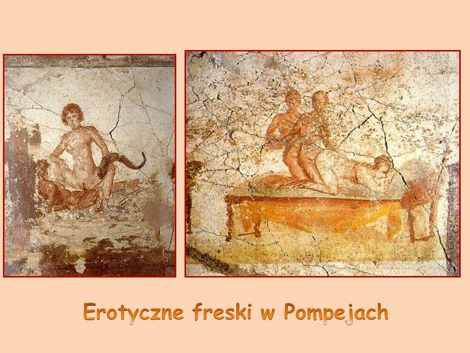 Erotyczne freski w Pompejach