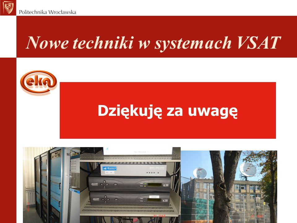Nowe techniki w systemach VSAT