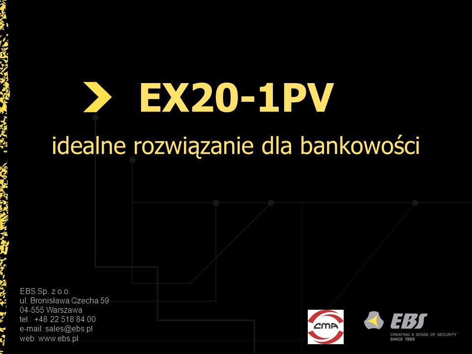 EX20-1PV idealne rozwiązanie dla bankowości
