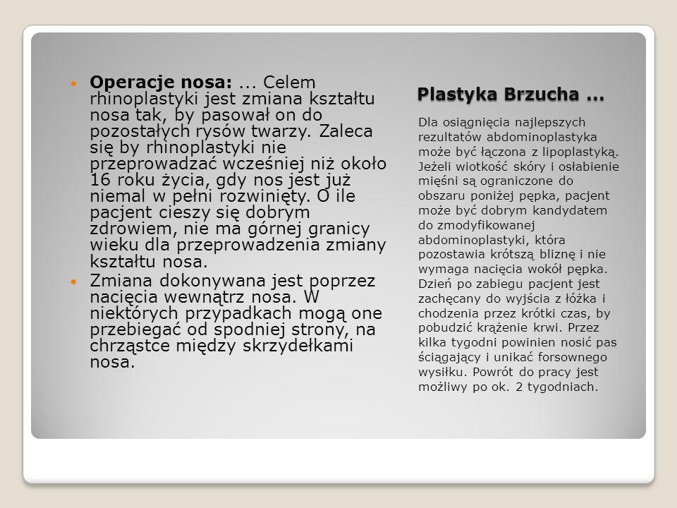 Plastyka Brzucha ...