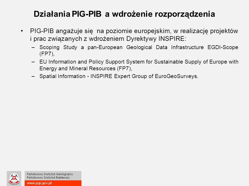 Działania PIG-PIB a wdrożenie rozporządzenia