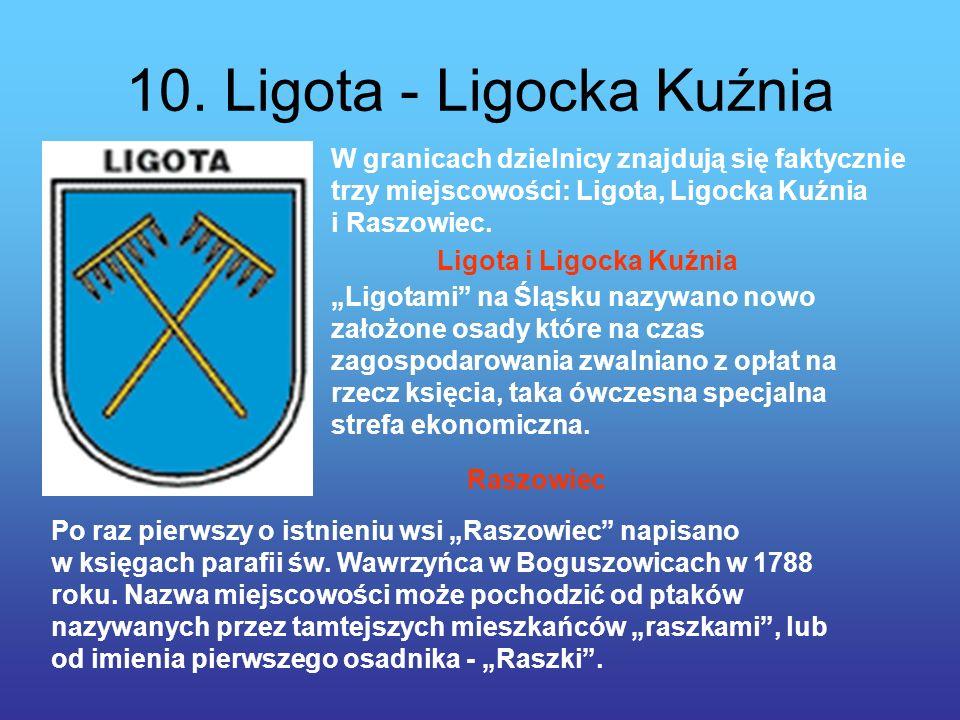 10. Ligota - Ligocka Kuźnia