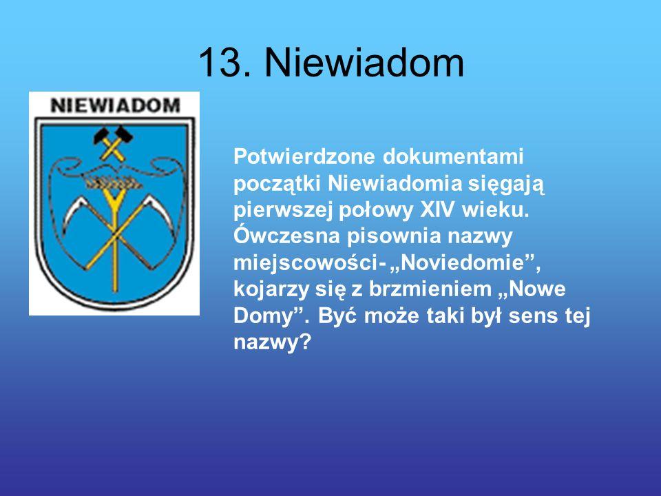 13. Niewiadom