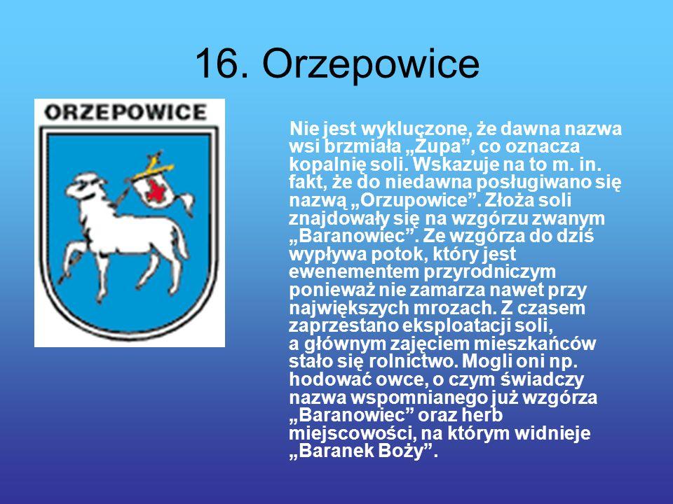 16. Orzepowice