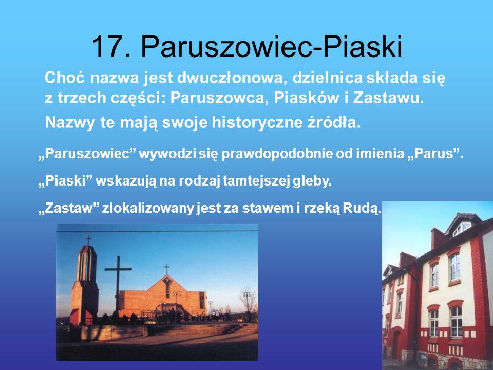 17. Paruszowiec-Piaski