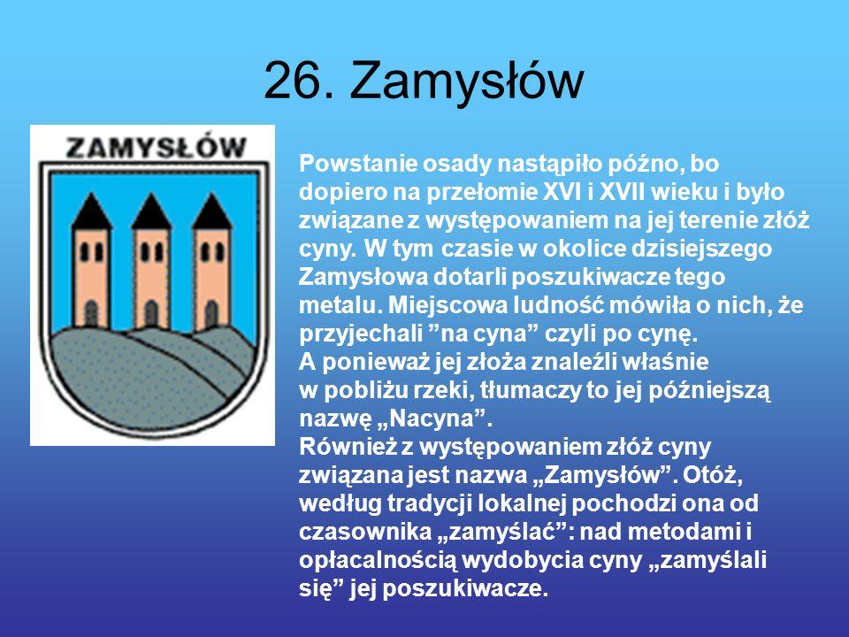 26. Zamysłów