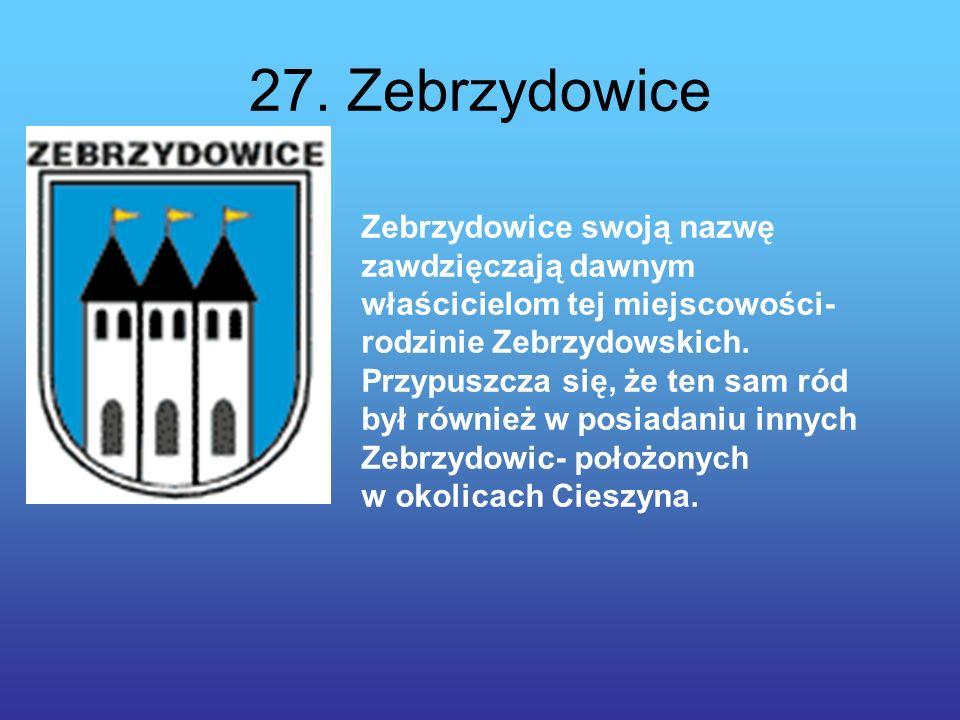 27. Zebrzydowice