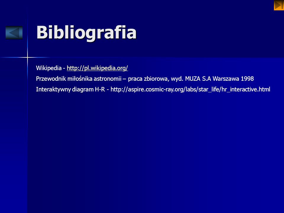 Bibliografia Wikipedia - http://pl.wikipedia.org/