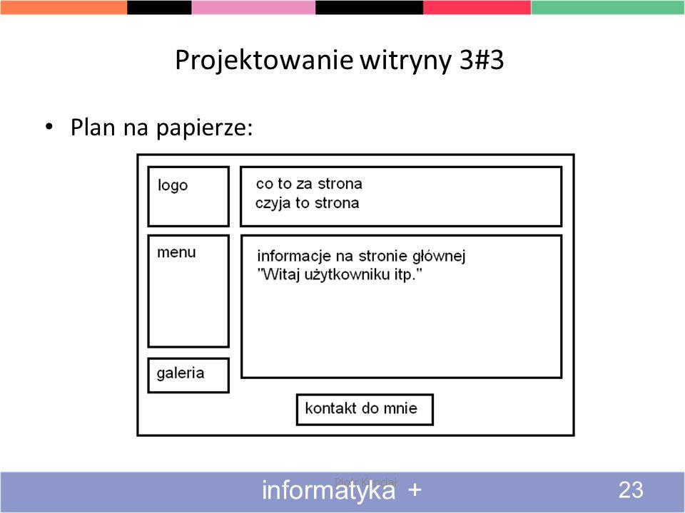 Projektowanie witryny 3#3