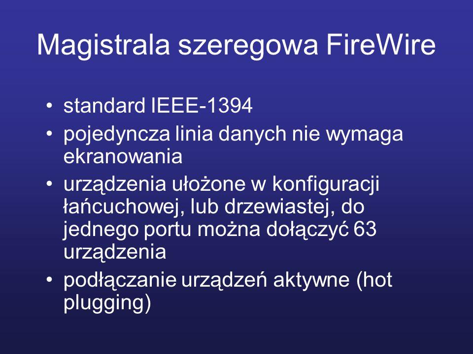 Magistrala szeregowa FireWire