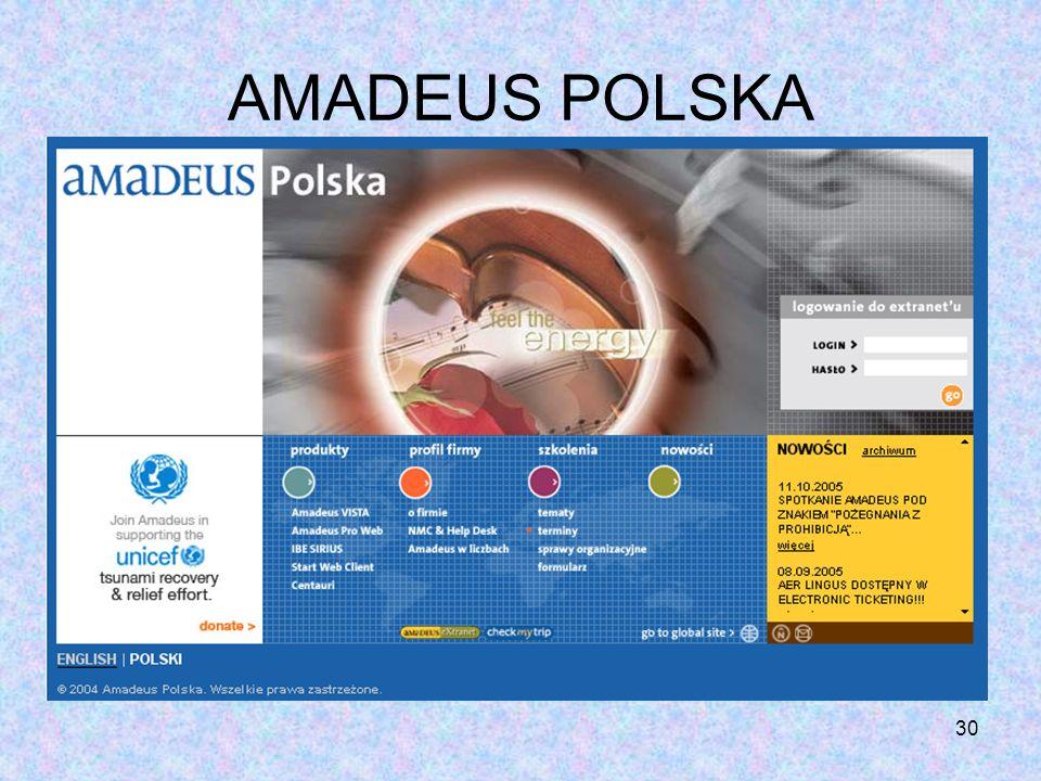 AMADEUS POLSKA