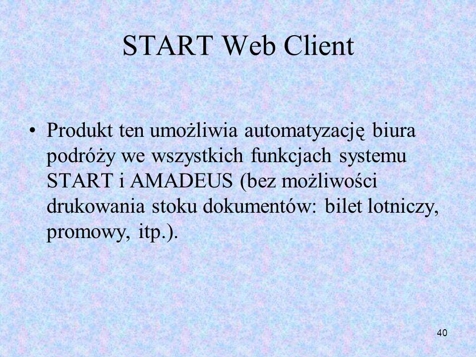 START Web Client