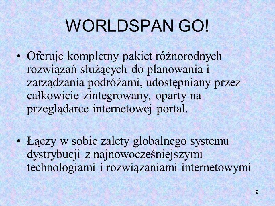 WORLDSPAN GO!