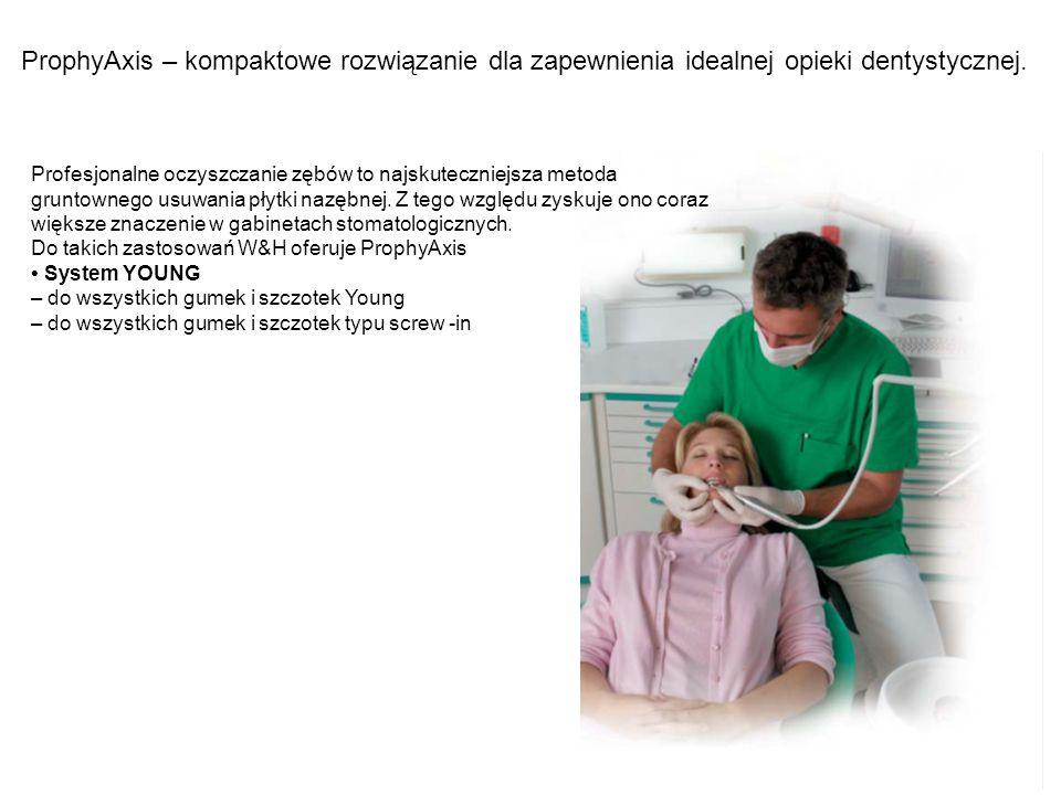ProphyAxis – kompaktowe rozwiązanie dla zapewnienia idealnej opieki dentystycznej.