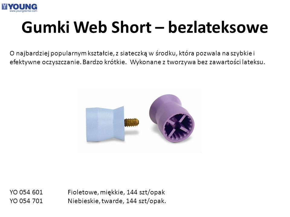 Gumki Web Short – bezlateksowe