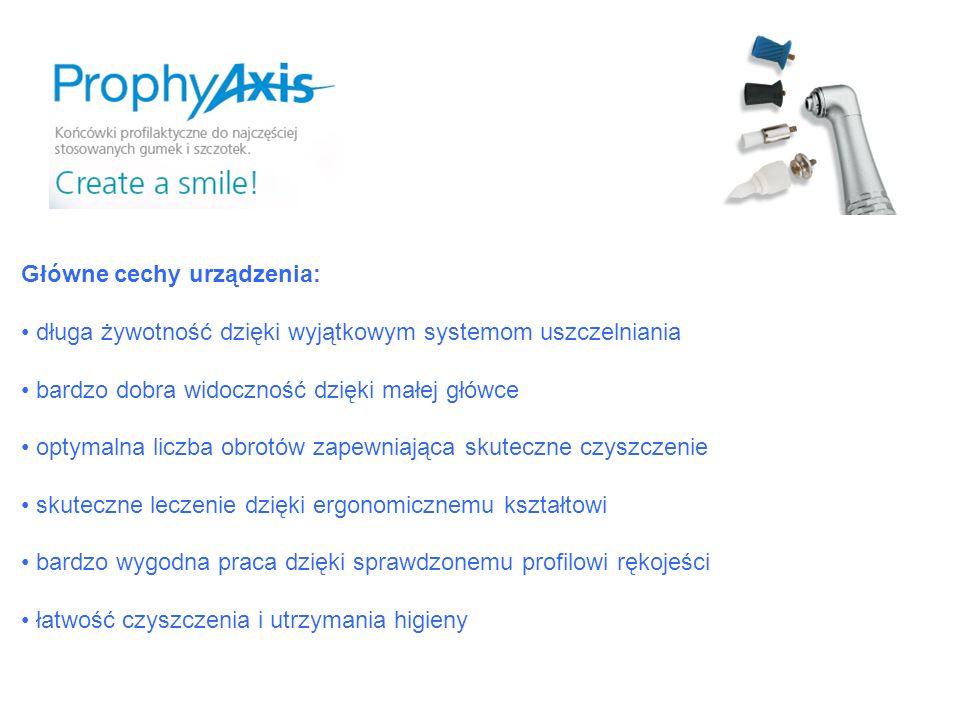 Główne cechy urządzenia: