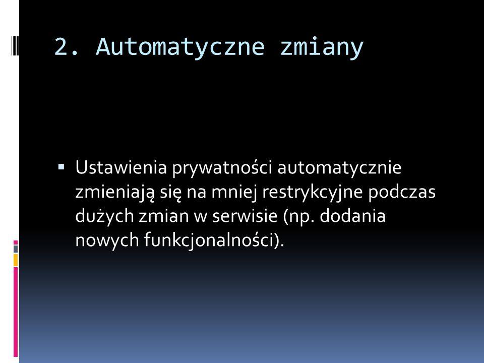 2. Automatyczne zmiany