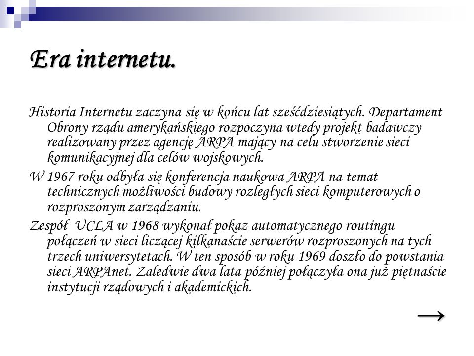 Era internetu.