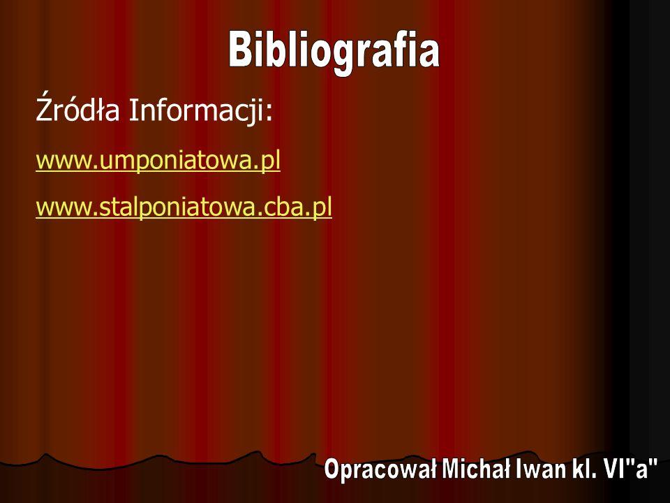 Opracował Michał Iwan kl. VI a