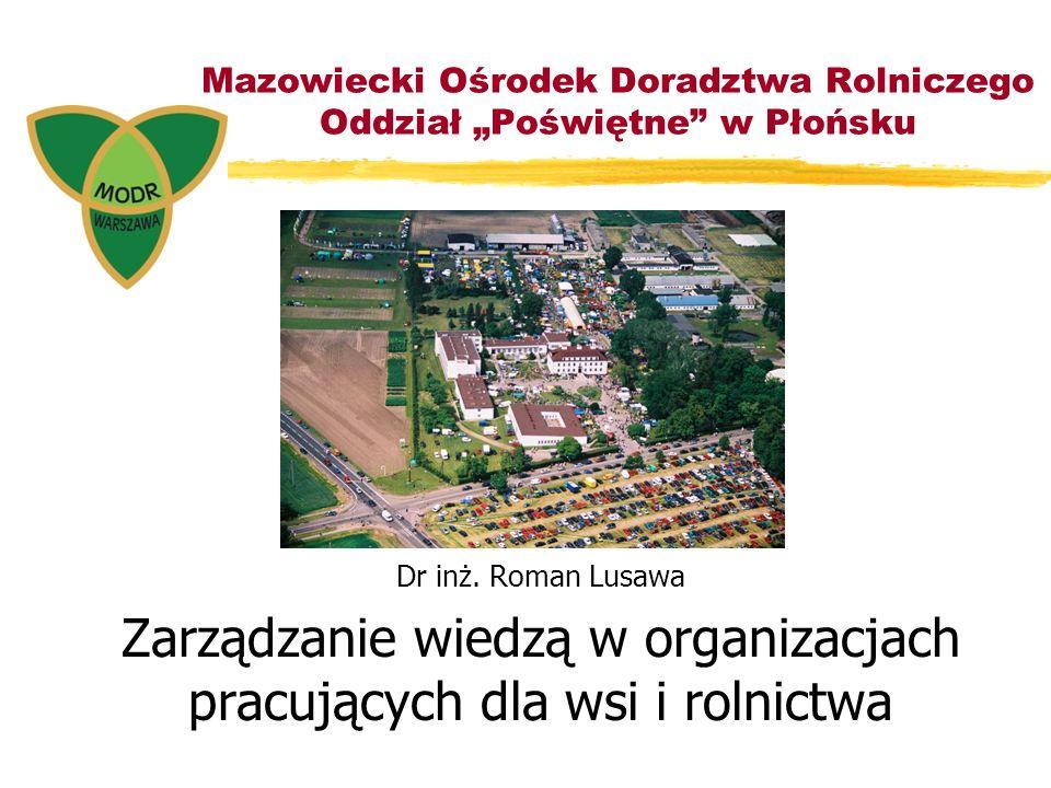 """Mazowiecki Ośrodek Doradztwa Rolniczego Oddział """"Poświętne w Płońsku"""
