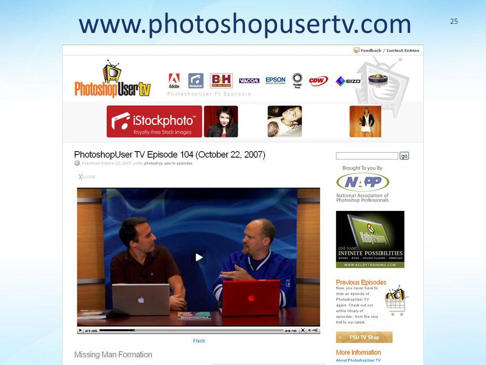 www.photoshopusertv.com