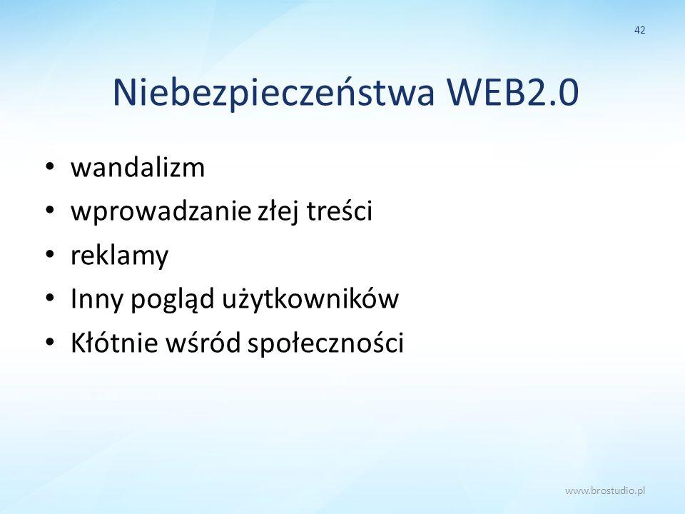 Niebezpieczeństwa WEB2.0