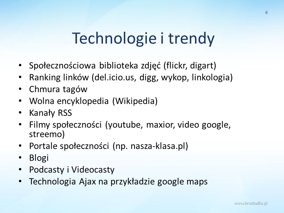 Technologie i trendy Społecznościowa biblioteka zdjęć (flickr, digart)