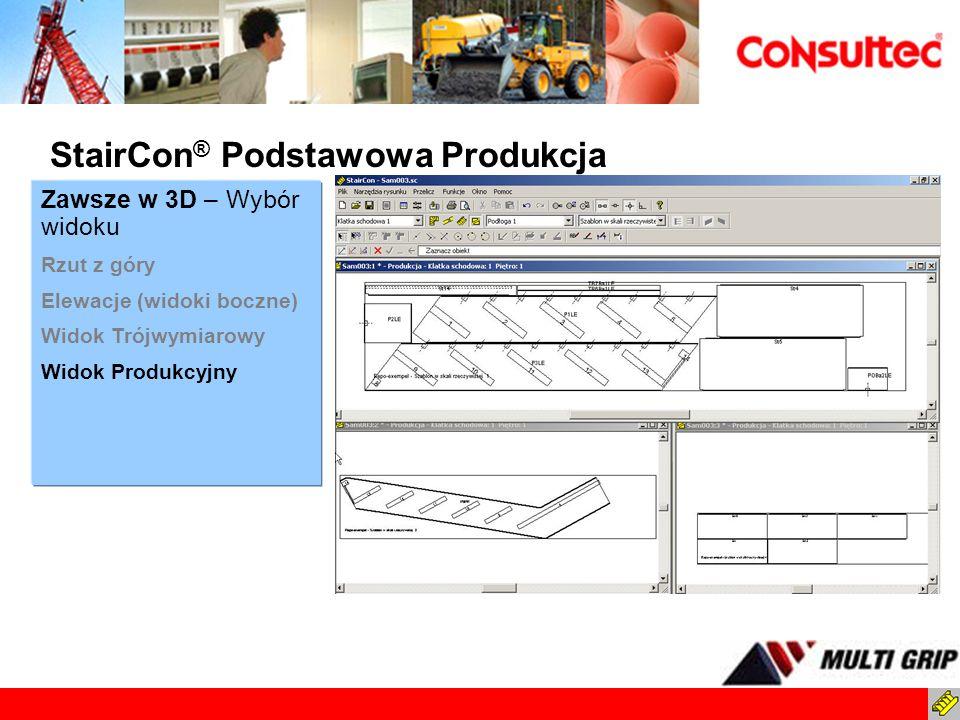 StairCon® Podstawowa Produkcja