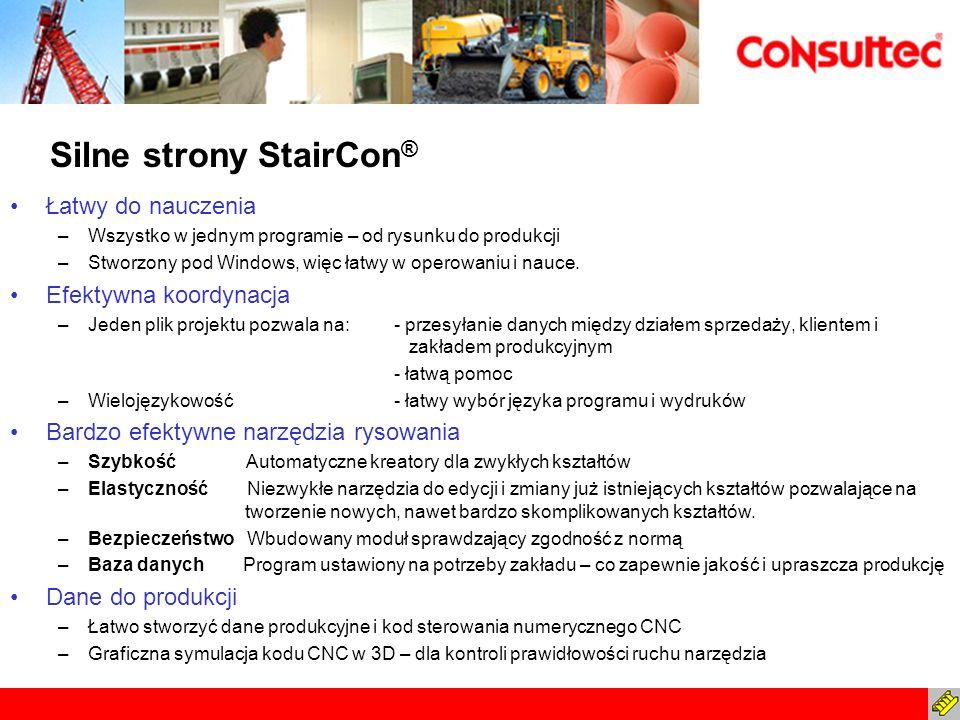 Silne strony StairCon®