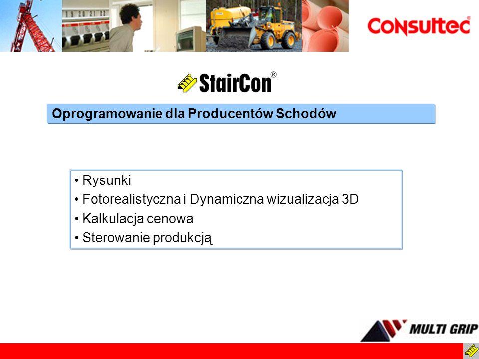 Oprogramowanie dla Producentów Schodów
