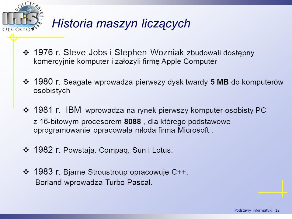 Historia maszyn liczących