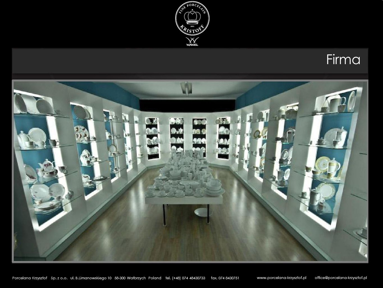 Firma www.porcelana-krzysztof.pl office@porcelana-krzysztof.pl