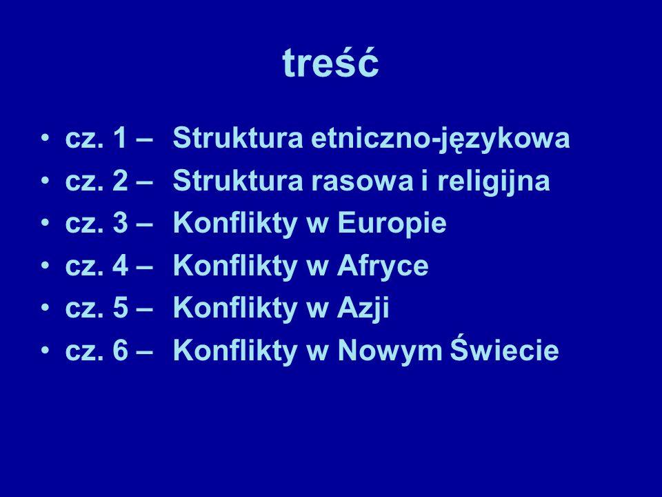 treść cz. 1 – Struktura etniczno-językowa