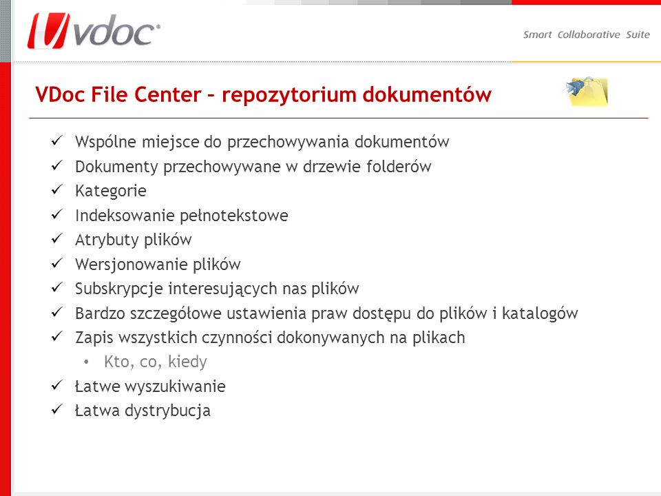 VDoc File Center – repozytorium dokumentów