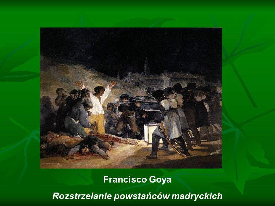 Rozstrzelanie powstańców madryckich