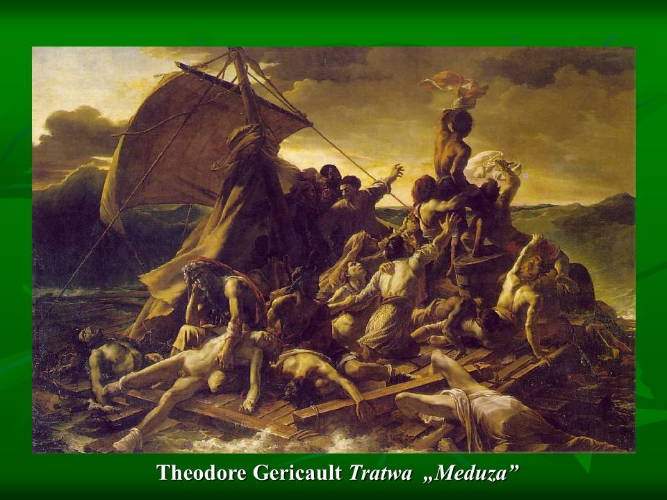 "Theodore Gericault Tratwa ""Meduza"