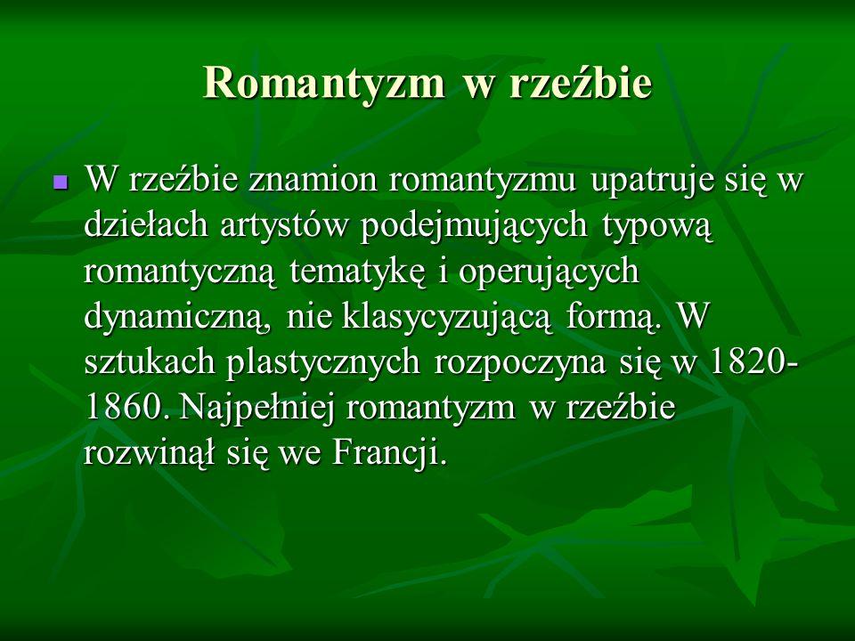 Romantyzm w rzeźbie
