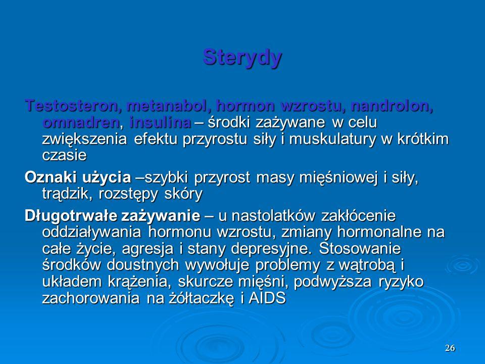 Sterydy