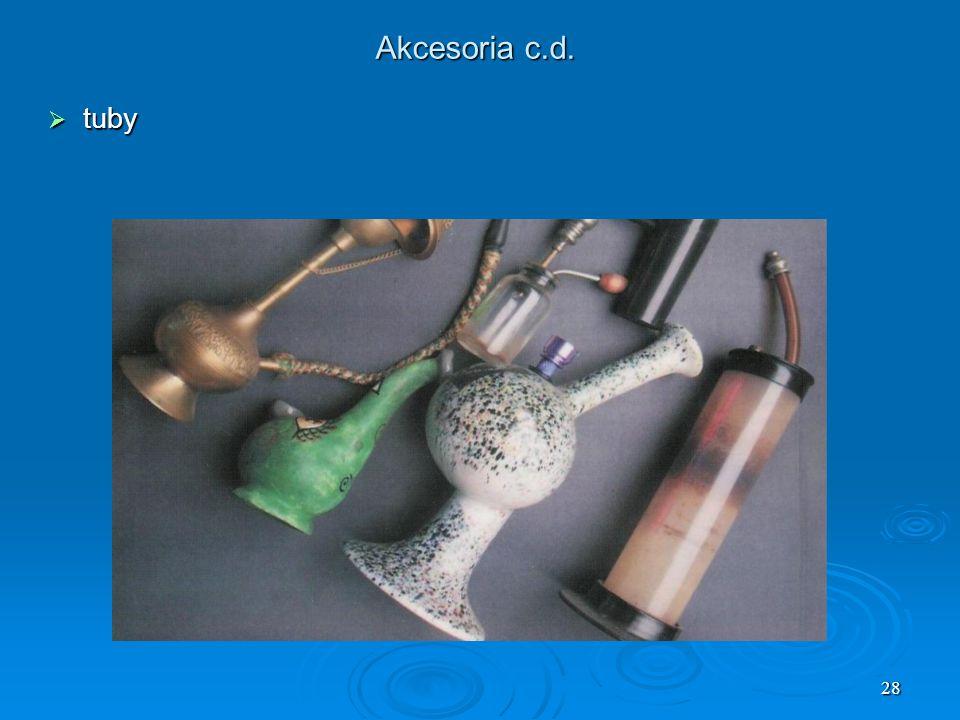 Akcesoria c.d. tuby