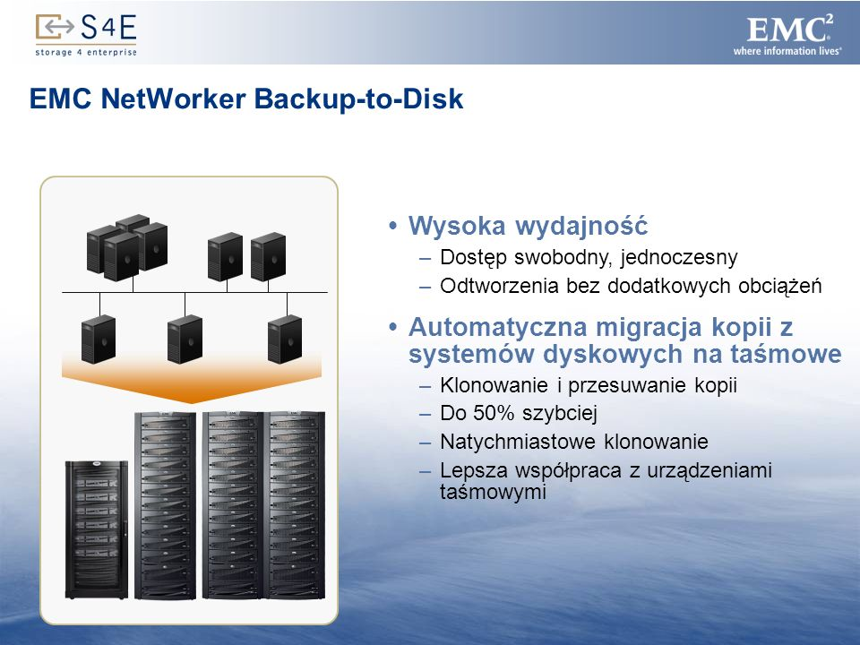 EMC NetWorker Backup-to-Disk