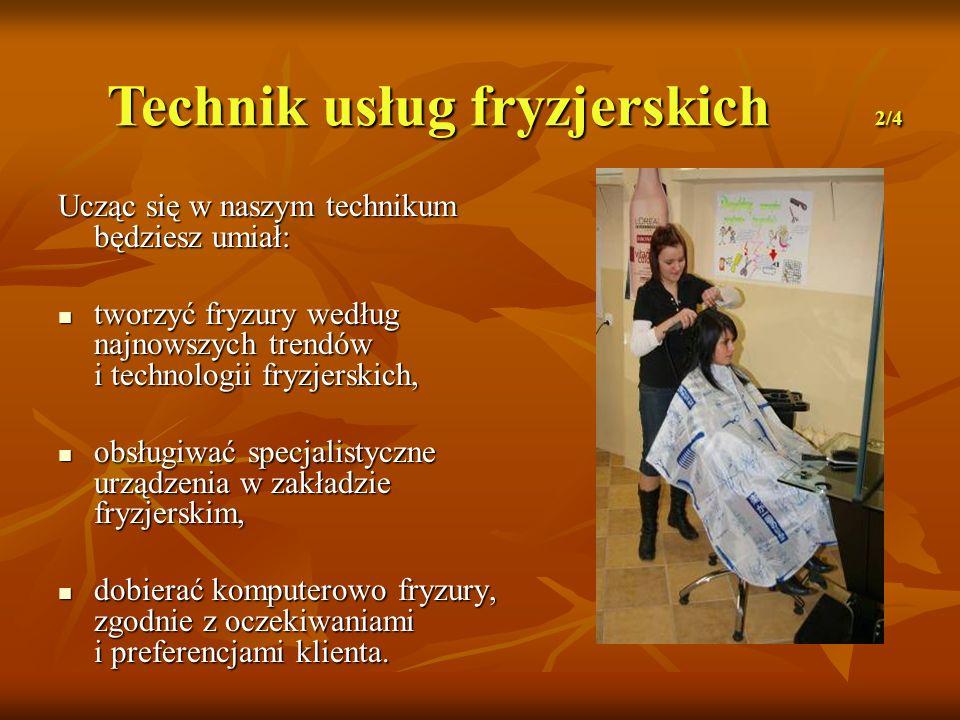Technik usług fryzjerskich 2/4