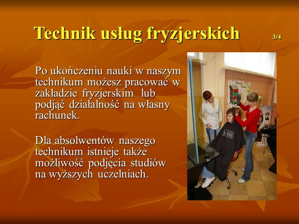Technik usług fryzjerskich 3/4
