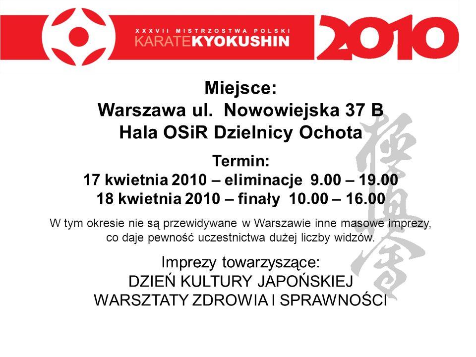 Miejsce: Warszawa ul. Nowowiejska 37 B