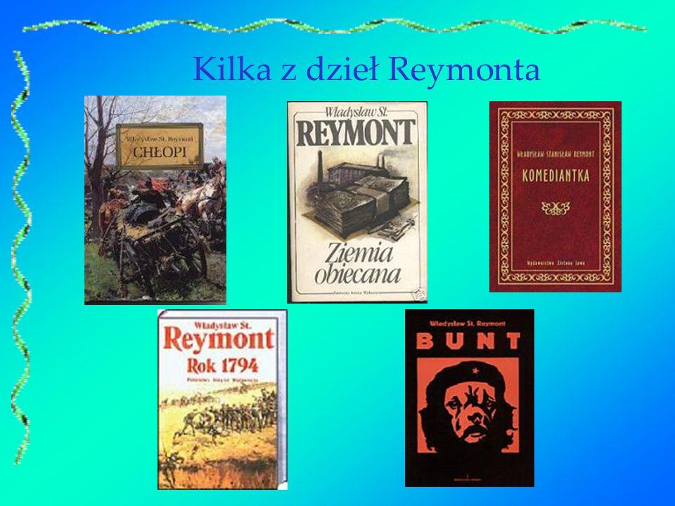 Kilka z dzieł Reymonta